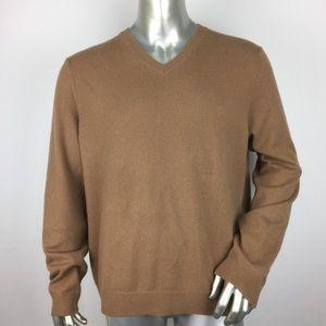 Vince V-Neck Cashmere Pullover Sweater XL